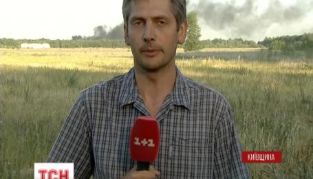 За сегодня удалось ликвидировать огонь на трех горящих цистернах нефтебазы