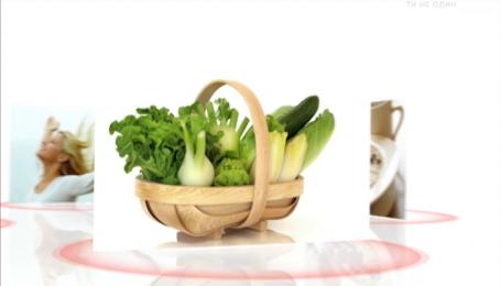 При употреблении здоровой пищи можно замедлить процессы старения