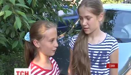 У Сумах 7-річна дитина влаштував «іспит» всім оперативним службам
