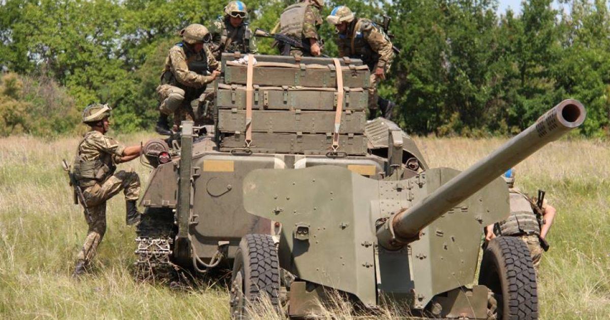 Украина предупредила ОБСЕ об использования артиллерии в случае атаки боевиков