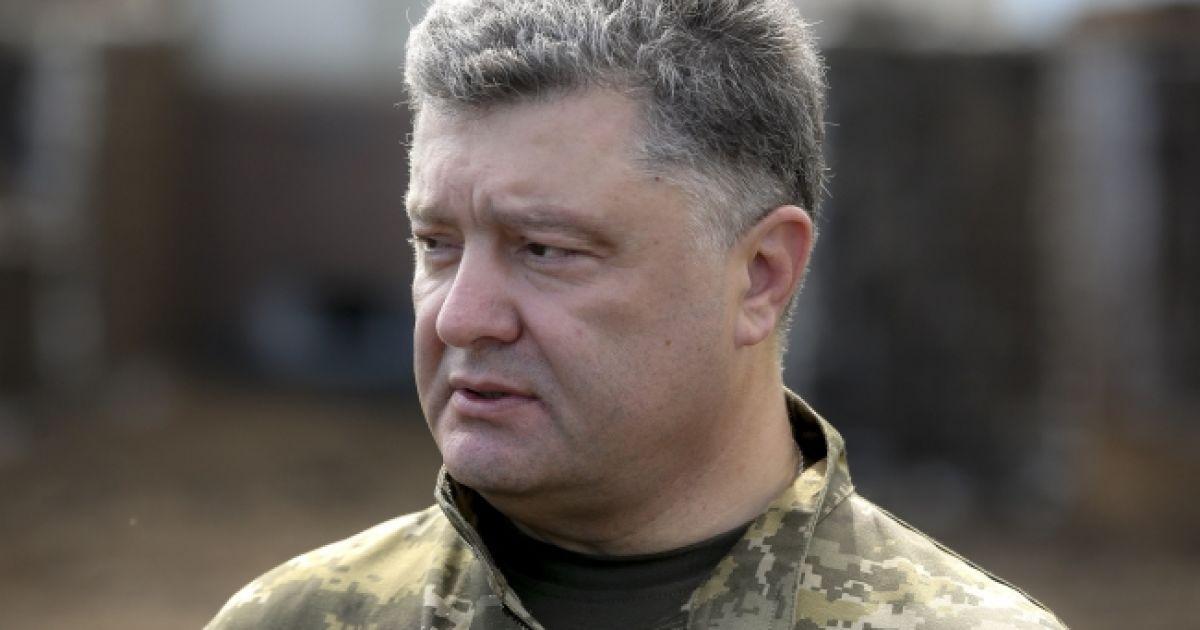 Порошенко создал 7 новых военно-гражданских администраций на Донбассе