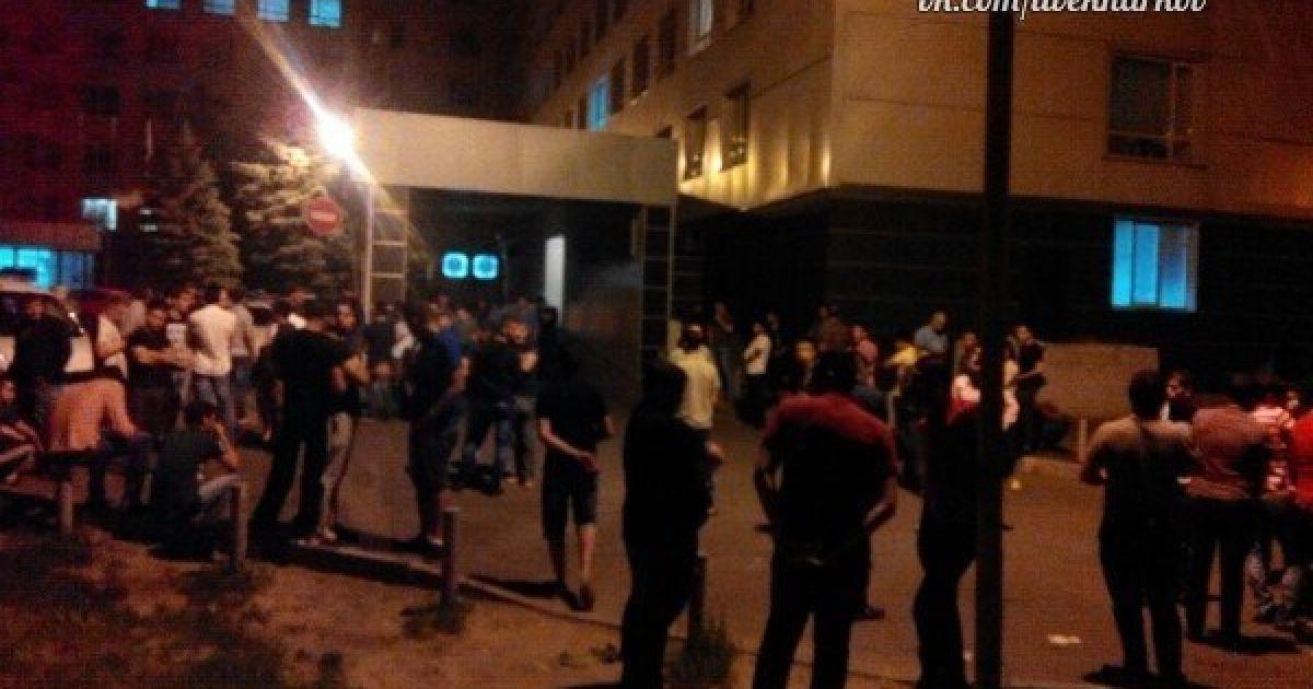 В Харькове неизвестные устроили резню. @ ВКонтакте/Харьков live
