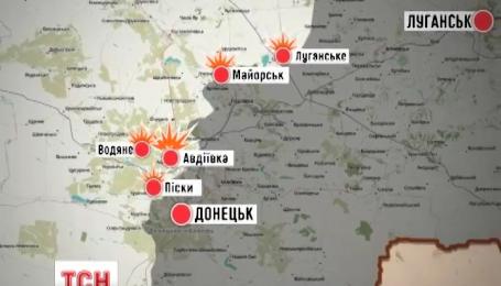Майже тридцять разів бойовики відкривали вогонь по позиціях українських військових
