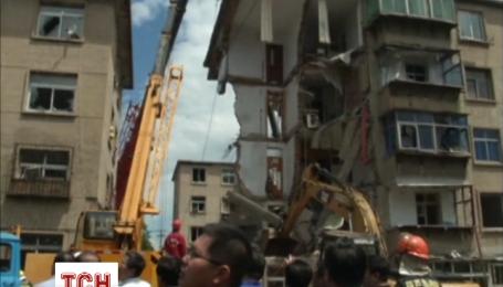 В Китаї вибухнув житловий будинок