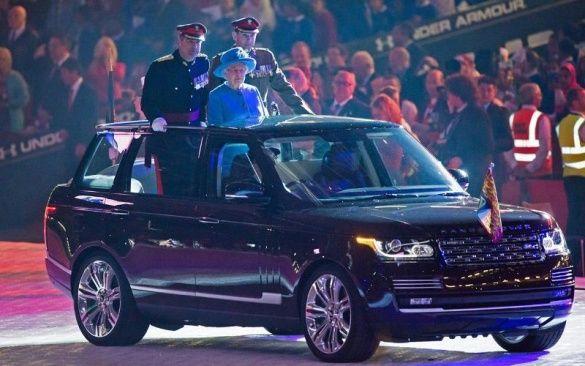 Range Rover Hybrid Елизаветы II
