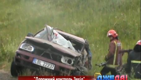 Два человека погибли в ужасной аварии на Львовщине