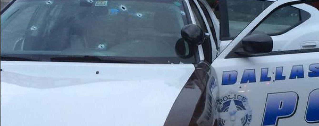 Стрельба в Далласе: безумные гонки и взрыв полицейской машины
