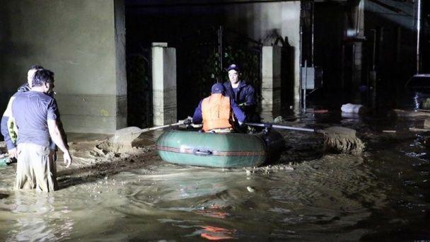 Руйнівна повінь у Тбілісі: місто потопає у воді, а вулицями розгулюють крокодили та тигри
