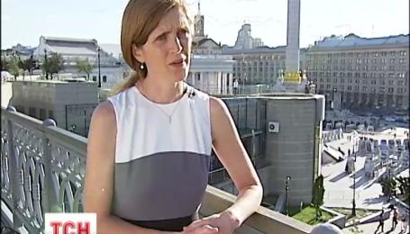 Саманта Пауэр очаровала украинцев фразой «Украина превыше всего»