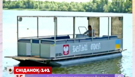В Кременчуге изготовили катер, который работает на солнечной энергии