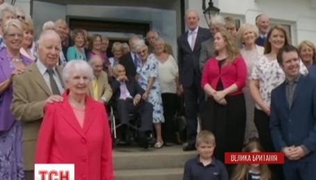 Британские молодожены попали в книгу рекордов, они стали самой старой в мире парой
