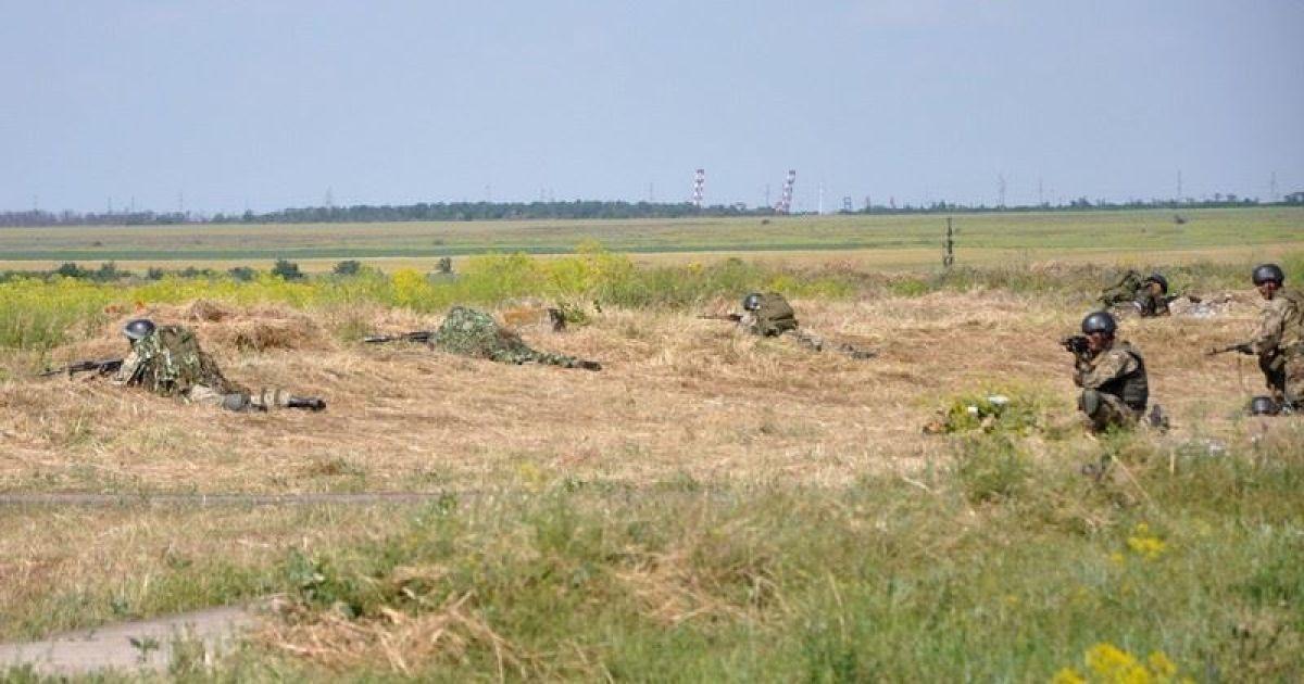 Провальное наступление боевиков под Старогнатовкой и бой в Широкино. Карта АТО