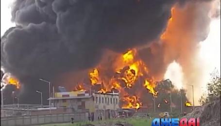 Бензин не будет дорожать из-за взрыва на нефтебазе под Киевом