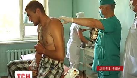 До Дніпропетровська доправили сорок поранених бійців