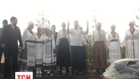 Гроза застала Олега Ляшка під час виступу у Берестечку