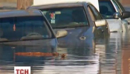 Прорив водопроводу призвів до паводку у Західній Філадельфії