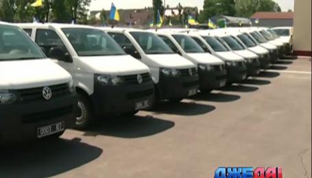 Европейский Союз подарил пограничникам 200 новых машин