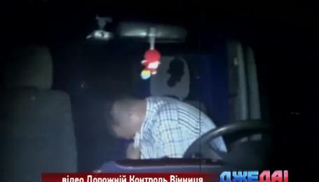 В Винницкой области задержали пьяного в стельку водителя