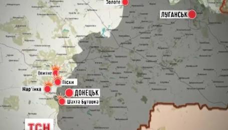Широкино боевики обстреливают из артиллерии и минометов