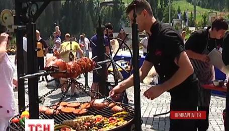 На Буковелі відбувся фестиваль барбекю
