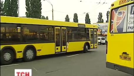 Чотирьох п'яних водіїв автобусів зловила столична ДАІ за останні 2 тижні