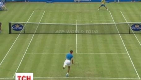 Украинец Александр Долгополов во второй раз победил легенду мирового тенниса Рафаэля Надаля