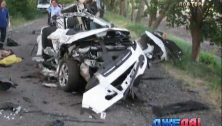 Ребенок погиб в аварии в Днепропетровской области