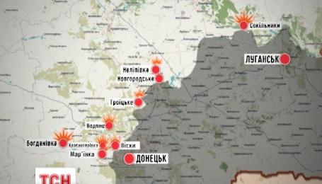 За добу на Донбасі троє загиблих, чотирнадцять поранених українських військових