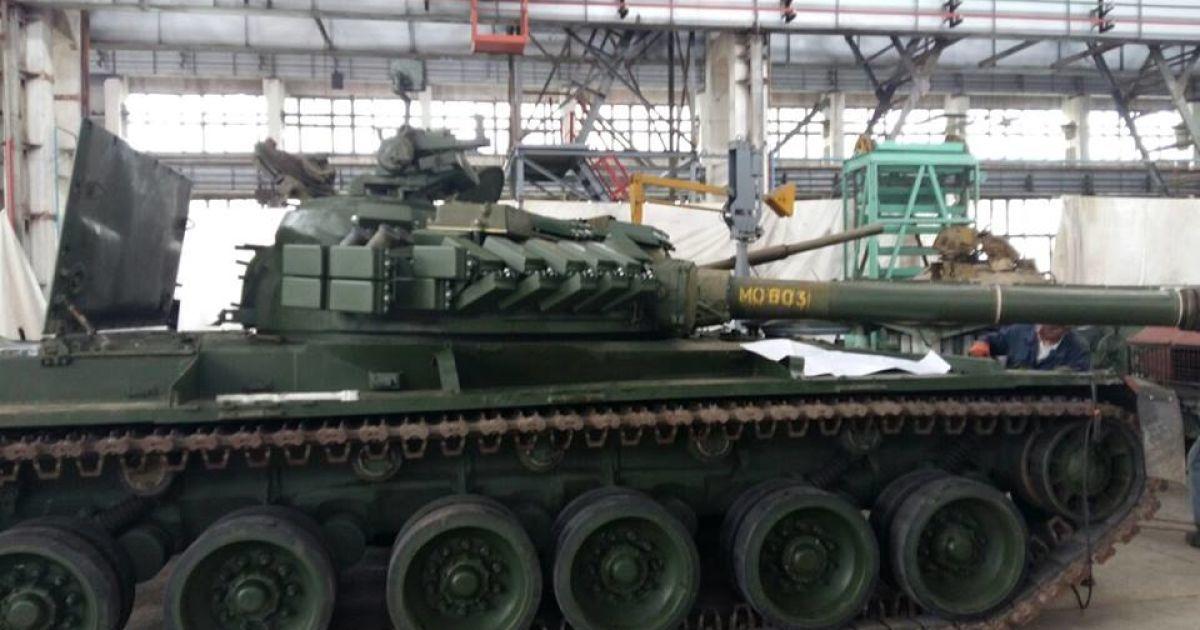 Бирюков показал новейшие танки @ Юрий Бирюков / Facebook