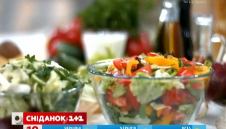 От салатов можно поправиться