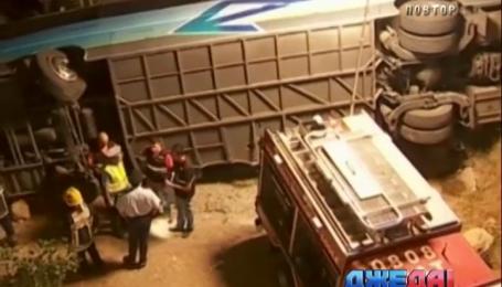 В Португалии разбился автобус с нидерландскими туристами