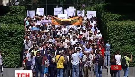 В столице шествием и траурным митингом почтили печальную годовщину