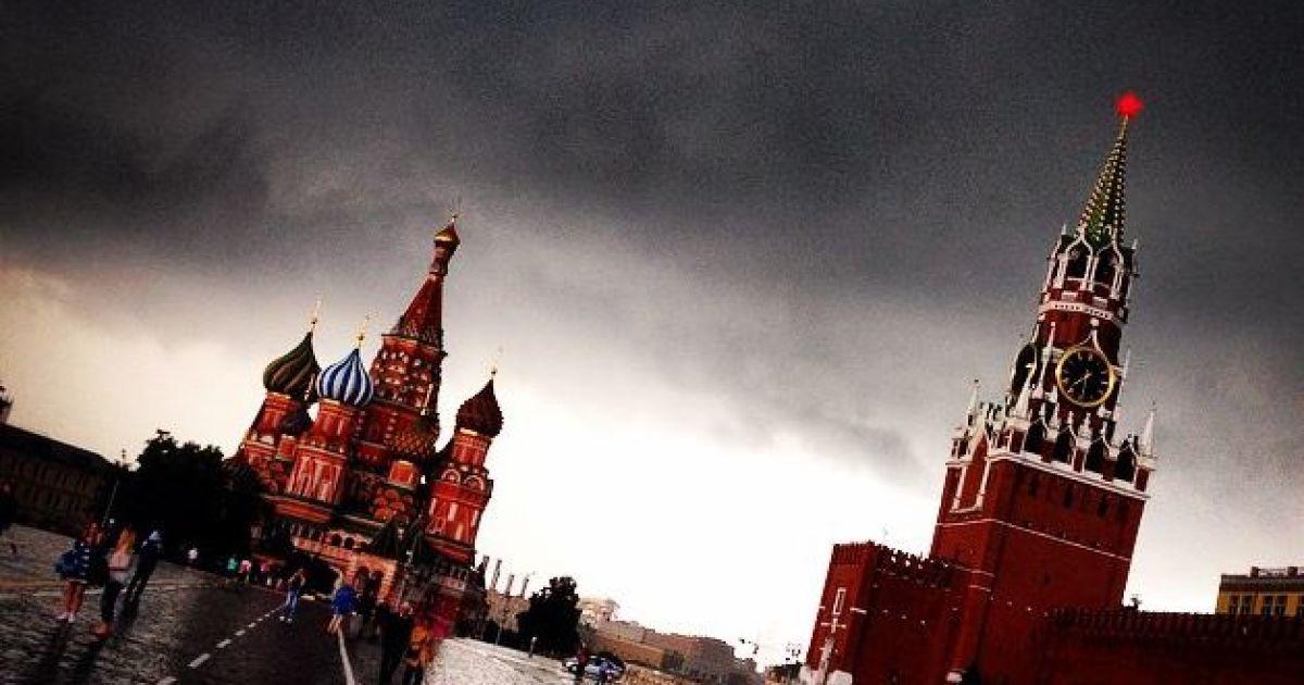 Москву залил сильный ливень @ Instagram