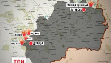 За прошедшие сутки боевики обстреляли украинские позиции полсотни раз