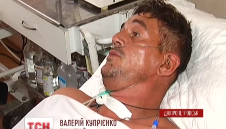 Восемь раненых бойцов доставили сегодня в днепропетровские больницы