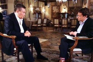 Бегство, Путин и страусы. Полный текст интервью с Виктором Януковичем