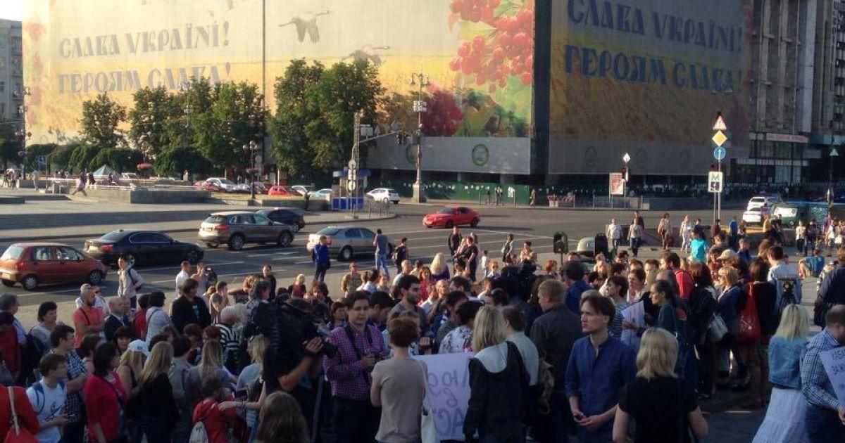 В центре Киева ограничат движение автомобилей