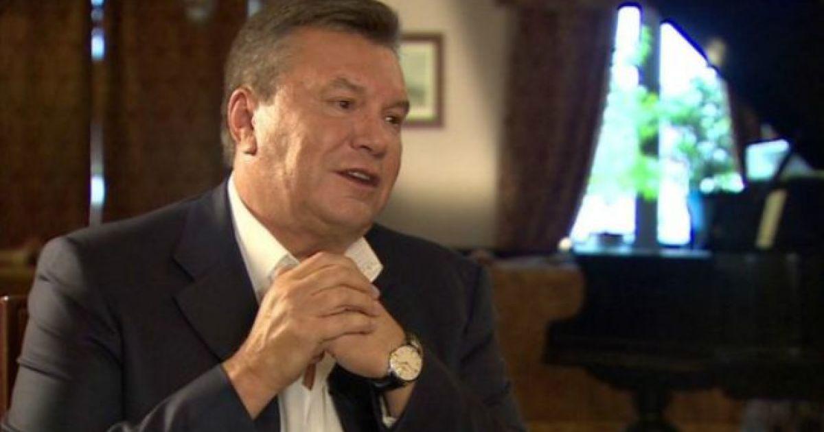 Россия игнорирует запросы ГПУ об экстрадиции Януковича
