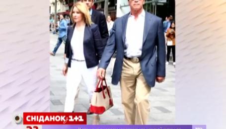 Шварценеггер їздить Європою зі своєю подругою