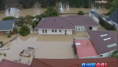 Север Новой Зеландии ушел под воду