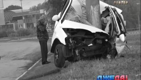 Инспектор ГАИ погиб в аварии в Мариуполе