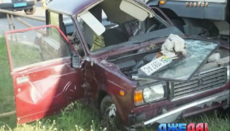 На Кировоградщине «четверка» попала под колеса грузовика