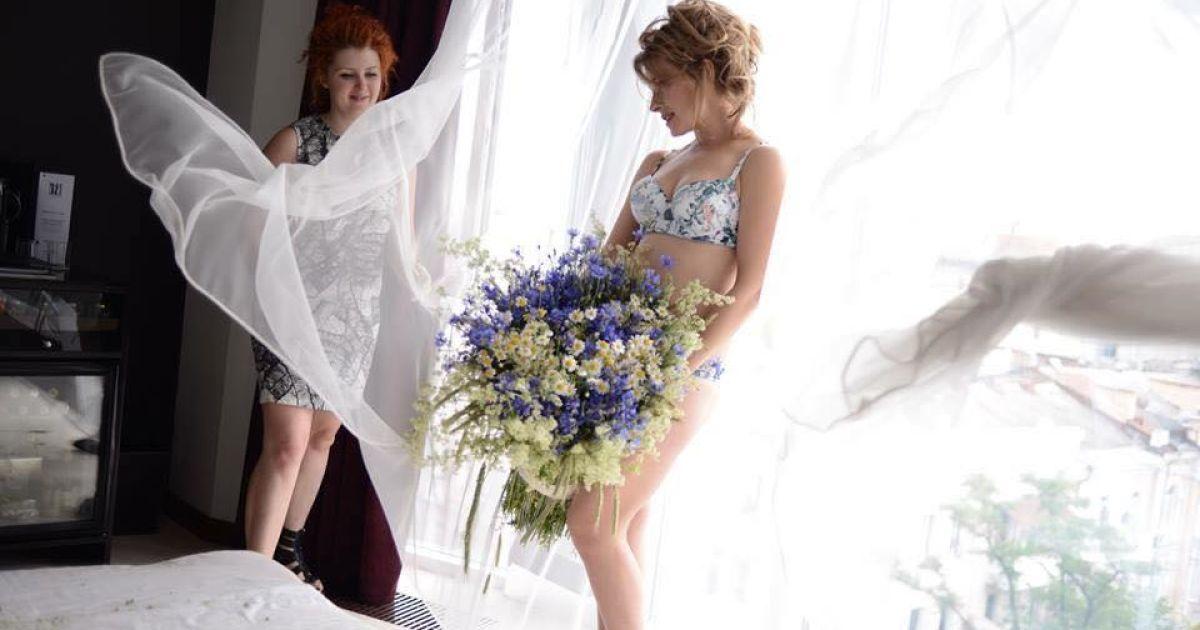Секса красивой сексуальные и гламурные невесты видео