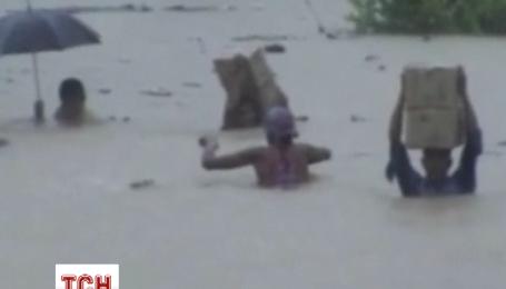 Сильные дожди залили Индию