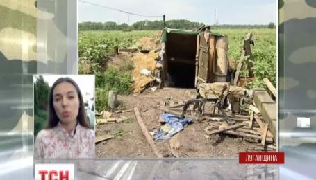 Боевики активизировались в районе Бахмутской автодороги на Луганщине