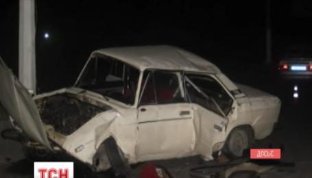 В Черновцах заместитель областного военного комиссара попал в аварию