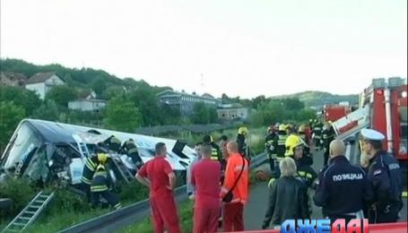 Массовая авария в Польше унесла жизни двух человек