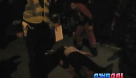 На Львовщине пьяный водитель заснул прямо возле правоохранителей