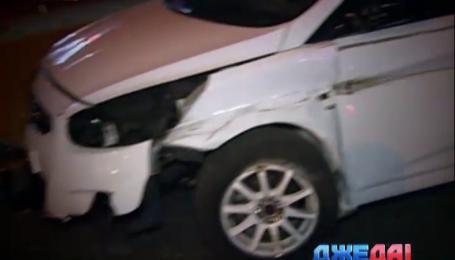 Виновники ДТП на столичном проспекте Победы быстро скрылись с места аварии