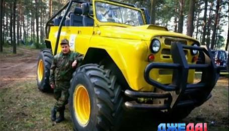 """В Беларуси изготовили автомобиль-гигант и назвали его """"Малышом"""""""